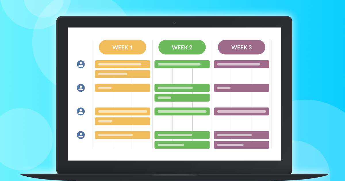 team-calendar-for-agile-weekly-planning image