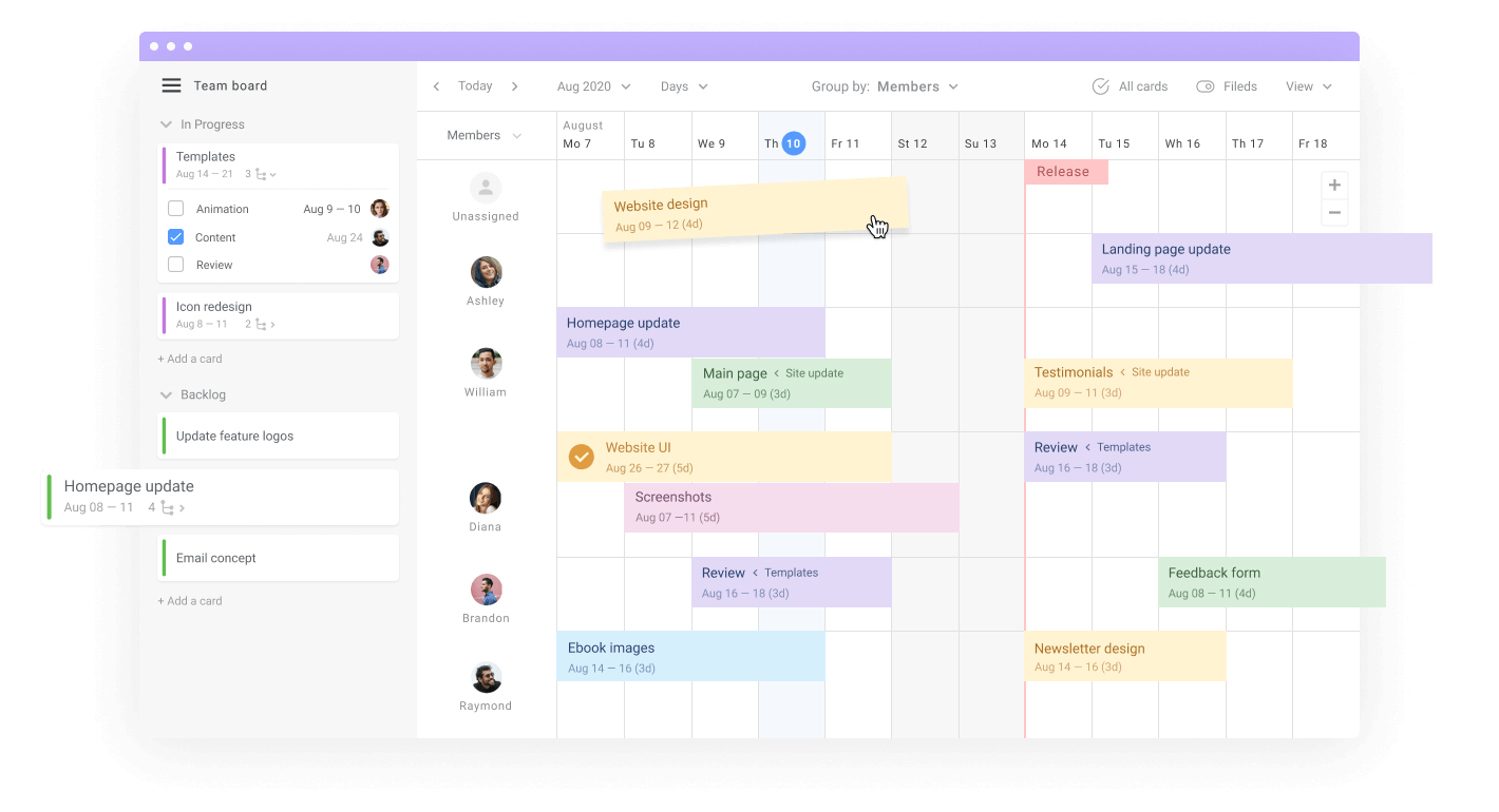 Project management for designers