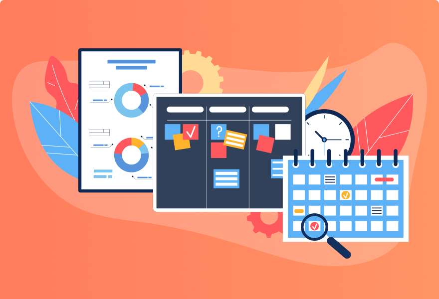 3 Visual Project Management Options – Timeline, Kanban, and Calendar