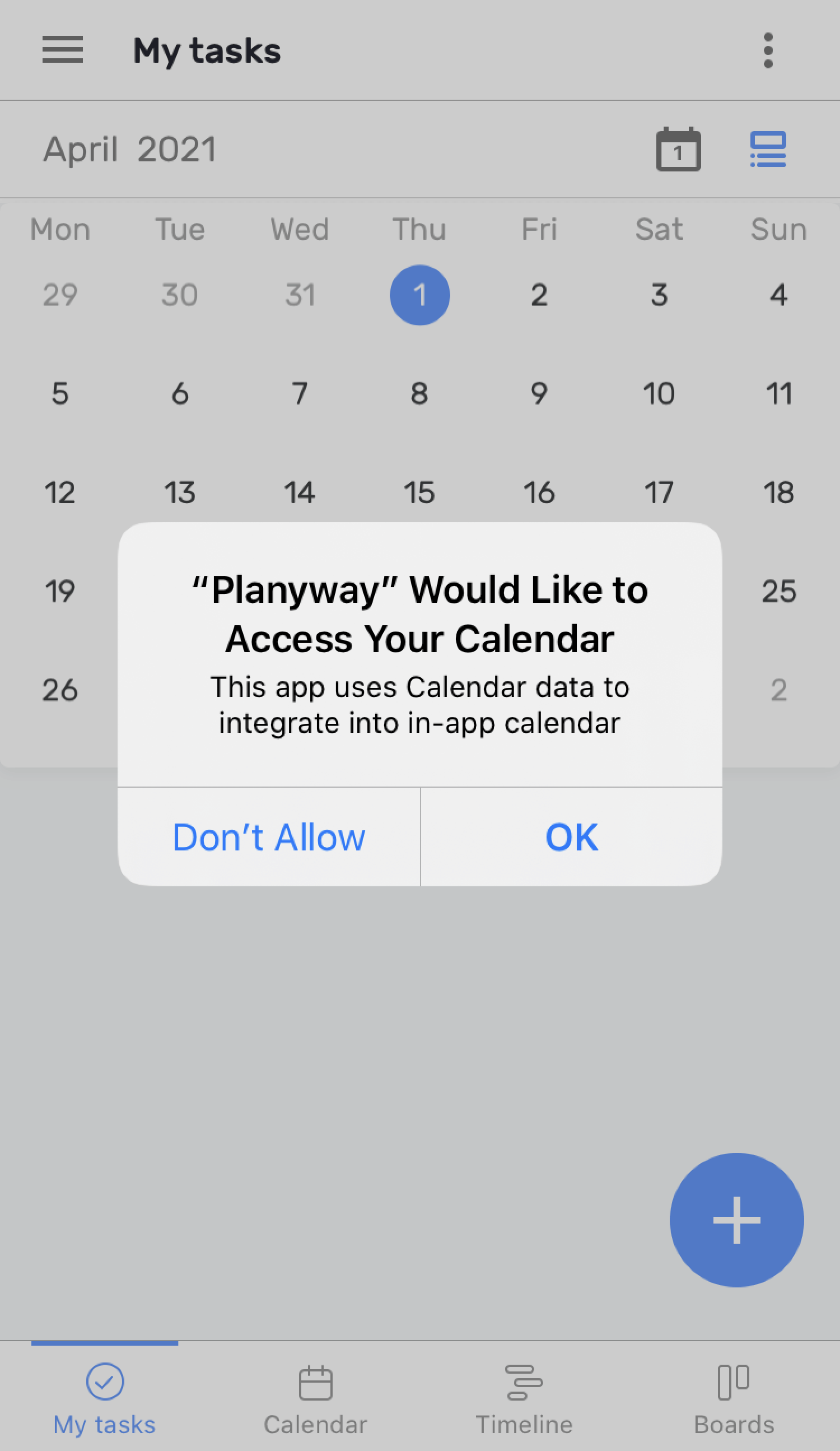 How to add external calendars to Planyway on mobile