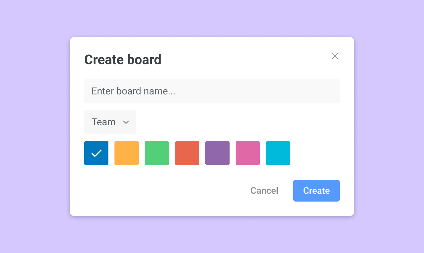 Сreate board