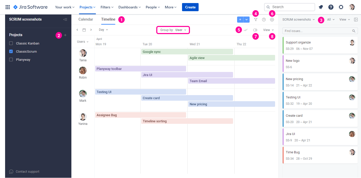 Planyway for Jira Cloud Guide Planyway Overview