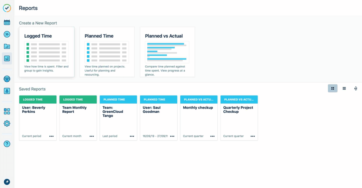Guide to Jira resourse planning tempo reports