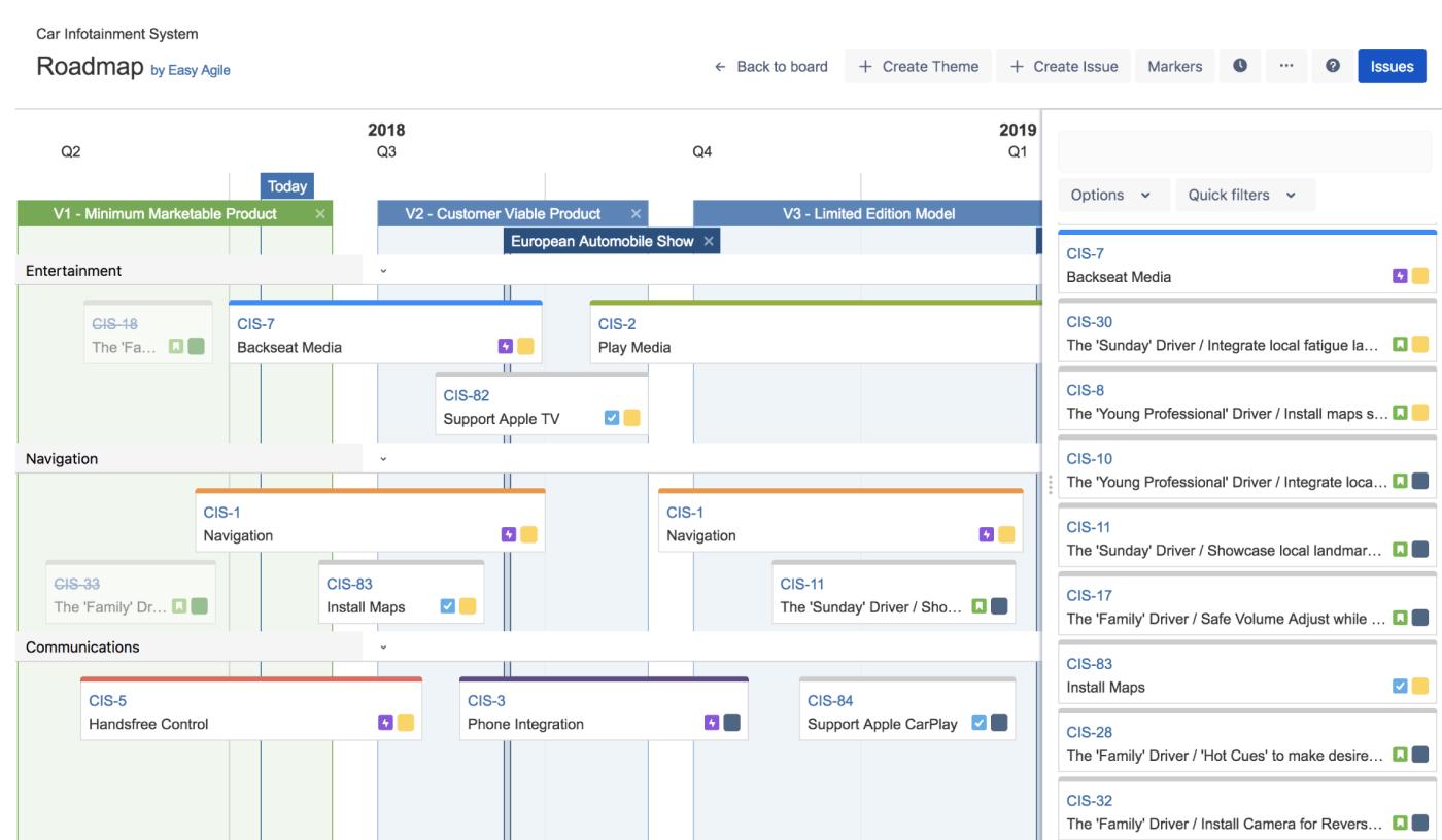 How to build Jira roadmap Easy Agile Roadmaps