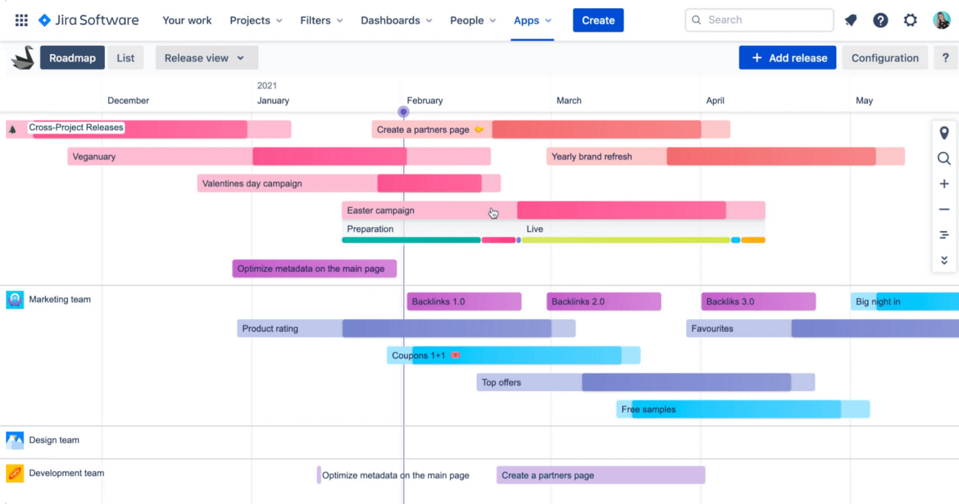 How to build Jira roadmap Swanly