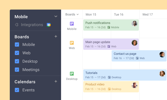 Trello Agile Project Management Planyway multiboard