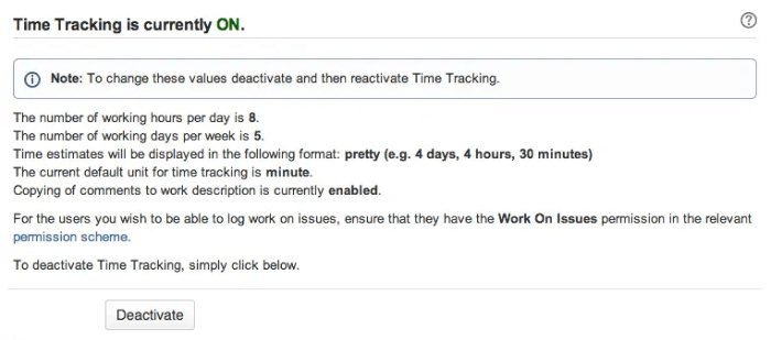 Time Tracking Ultimate Jira Guide enable time tracking
