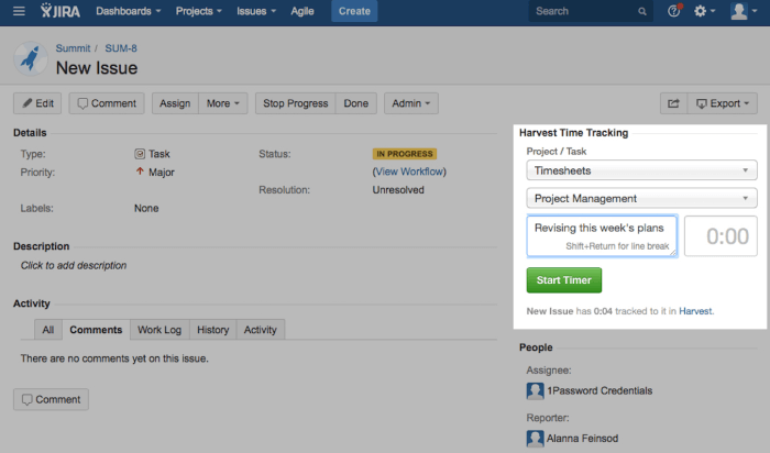 Time Tracking Ultimate Jira Guide Harvest