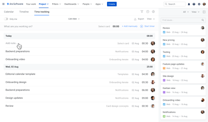 Time Tracking Ultimate Jira Guide Planyway time tracking